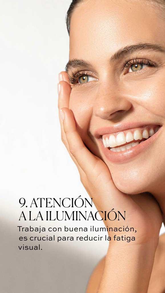 9 - Atención a la iluminación - Tips Mirada Saludable